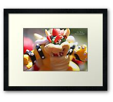 Bowser - Photography Framed Print