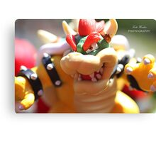Bowser - Photography Canvas Print