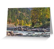 Icicle Creek Greeting Card