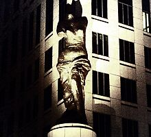 Watching over Cleveland by Marcia Rubin