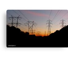 Pylon Army Canvas Print