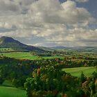 Scott's View autumn by Ranald