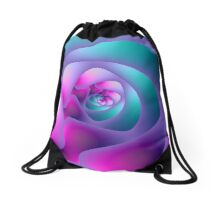Spiral Labyrinth Drawstring Bag