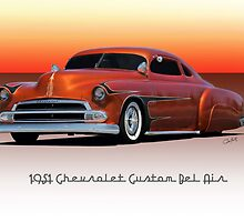 1951 Chevrolet 'Kustom' Bel Air II by DaveKoontz