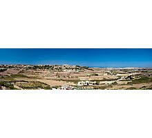Maltese Landscape Photographic Print