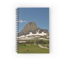 Logan Pass, Montana Spiral Notebook