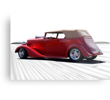 1935 Chevrolet Phaeton 'Rear Perspective' Metal Print