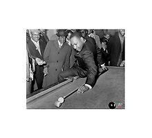 MLK Playing Pool by doo410