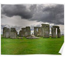 Stone Henge HDR Poster