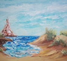 Sail Away  by Mary Sedici