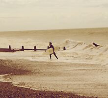 Cold Surfer by JackPhotography