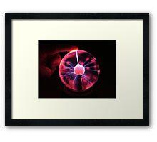 Lite touch Framed Print