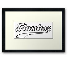 Flawless Workout Exercise Gym Framed Print