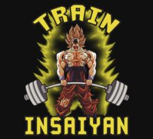 TRAIN INSAIYAN by oolongtees