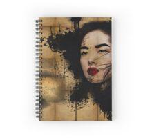 Inked Girl! Spiral Notebook