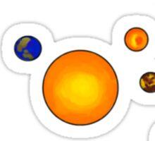 Planets! Sticker