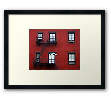 Small Hotel in Cincinnati Framed Print