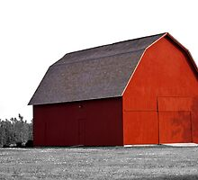 The Red Barn by thruHislens .