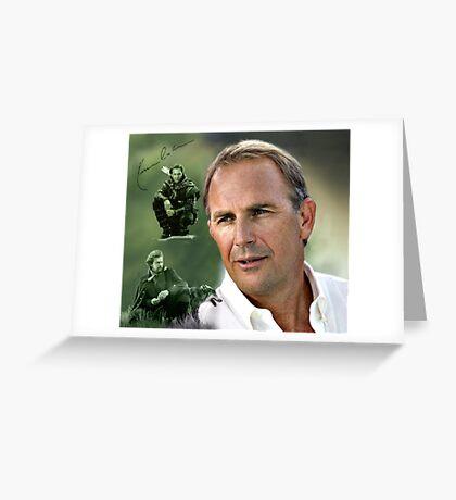 Kevin Costner Greeting Card