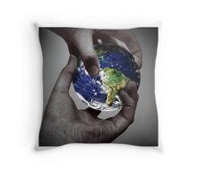 Global Exchanges Throw Pillow