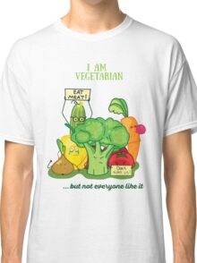 Angry vegetables Classic T-Shirt