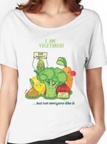 Angry vegetables Women's Relaxed Fit T-Shirt