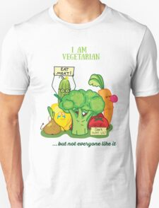 Angry vegetables Unisex T-Shirt