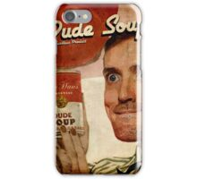 Dude Soup - Funhaus - James iPhone Case/Skin