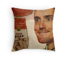 Dude Soup - Funhaus - James Throw Pillow