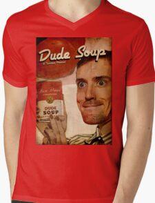 Dude Soup - Funhaus - James Mens V-Neck T-Shirt