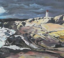 Peggy's Cove by Charles Kohnen