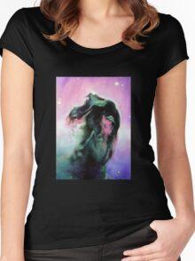 Horsehead Nebula Women's Fitted Scoop T-Shirt