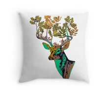 Back to the wood Throw Pillow