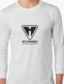 Hitchhikers Improv (Black) Long Sleeve T-Shirt