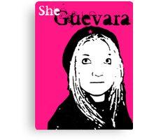 She Guevara Canvas Print