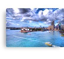 Sydney Blues Canvas Print