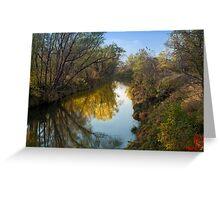 Rush River Reflections Greeting Card