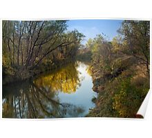 Rush River Reflections Poster