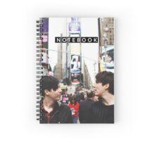 Dan & Phil in NYC Notebook Spiral Notebook