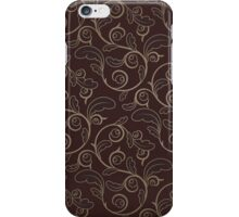 Vintage Striped Background iPhone Case/Skin