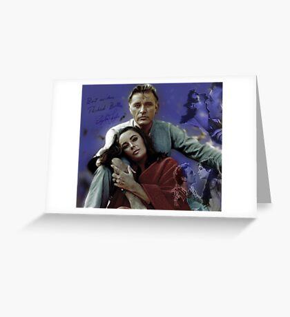 Richard Burton Greeting Card