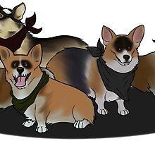 War Pups by RaverGreen