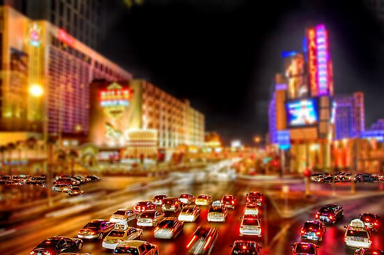 Vegas Nights by Ed Pereira