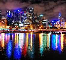 Melbourne Nights of Colour by Ed Pereira