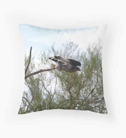 """Here I go!"" Throw Pillow"