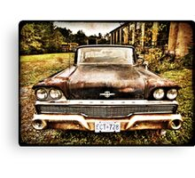 1959 Ford Meteor Montecalm Canvas Print
