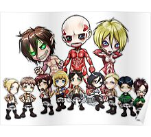 Attack on Chibi Poster