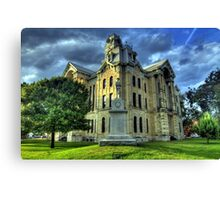 Hill County Courthouse Canvas Print