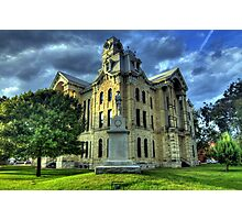 Hill County Courthouse Photographic Print