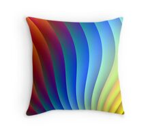 A party for the eye! Throw Pillow